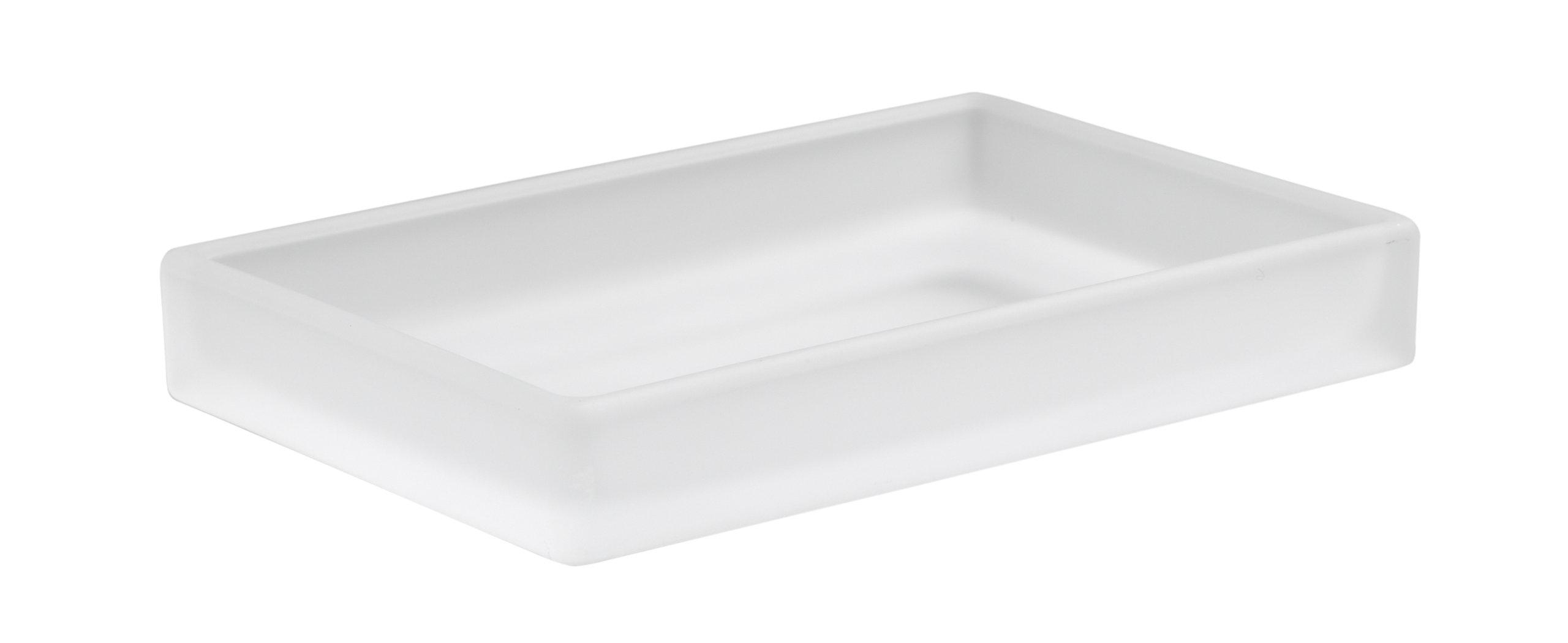 Kohler K-11595-FRG Loure Soap Dish, Frosted Glass