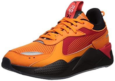the latest 23573 141f8 PUMA Men s RS-X Toys Hotwheels Camaro Sneaker Vibrant Orange Black, ...
