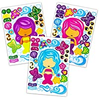 Decorate Your Own Mermaid Sticker Scenes- Makes 48
