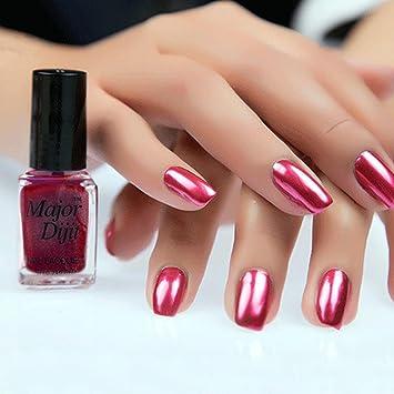 Amazon.com : Women Nail Polish, Lotus.flowe 7ML Mirror Effect ...