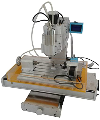 Cnc Router Table >> Amazon Com Sunwin Cnc Router Table 4 Axis Engraving Machine High