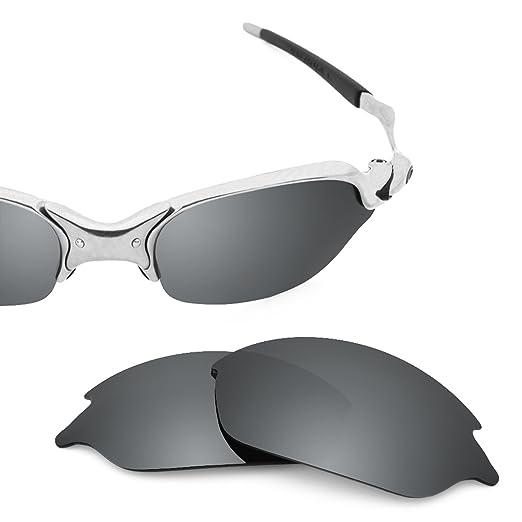 bc17bf877 Revant Polarized Replacement Lenses for Oakley Romeo 2 Elite Black Chrome  MirrorShield