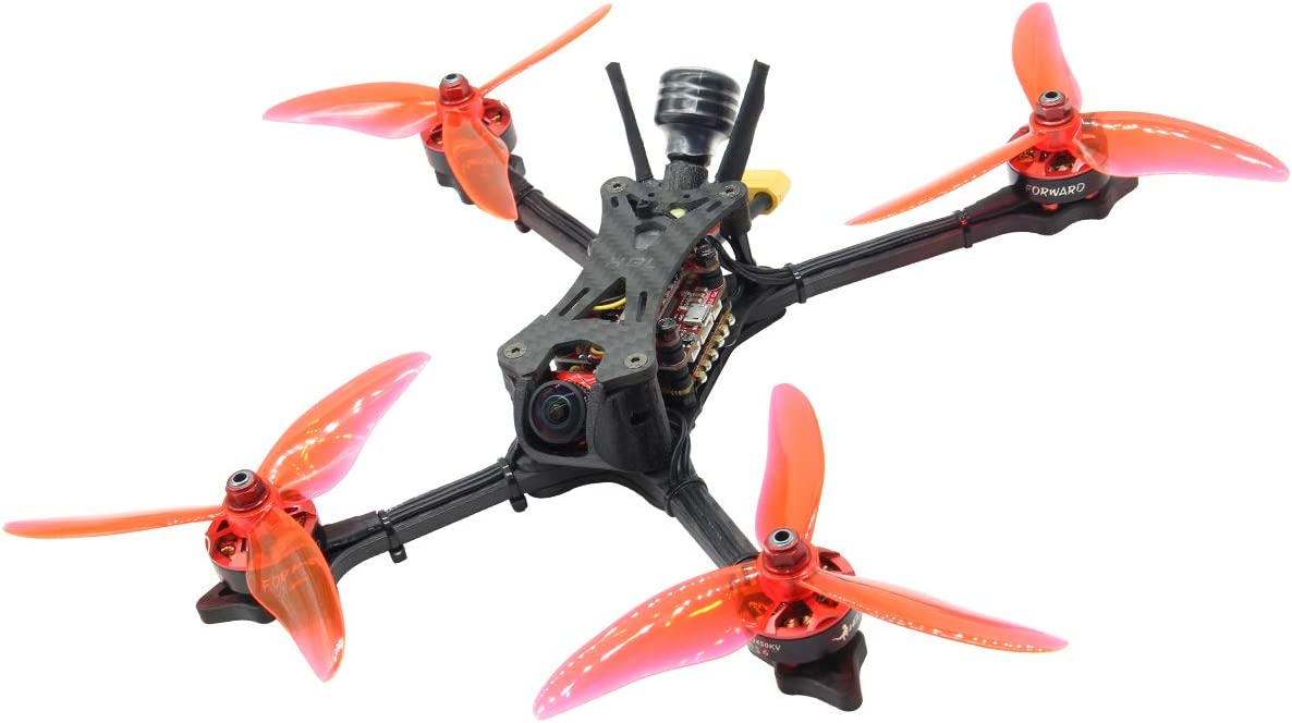 HGLRC Wind5 6S FPV Racing Drone Powerful F7 FC 2306 1600KV Brushless Motor Blheli32 60A 4 in 1 ESC Carbon...