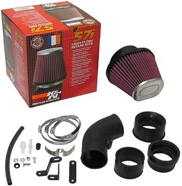K/&N 57-0618-1 Performance Cold Air Induction Intake System Kit Audi Seat VW