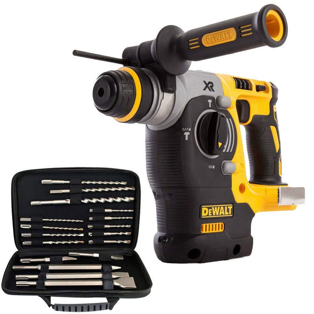 Dewalt DCH273N 18V Brushless SDS Rotary Hammer Drill With 17pcs SDS Drill Bit