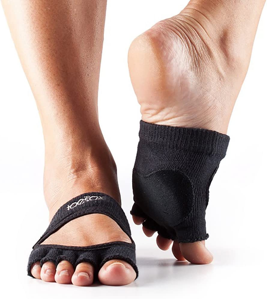 Toesox Half Toe Releve Chaussettes de Yoga Mixte