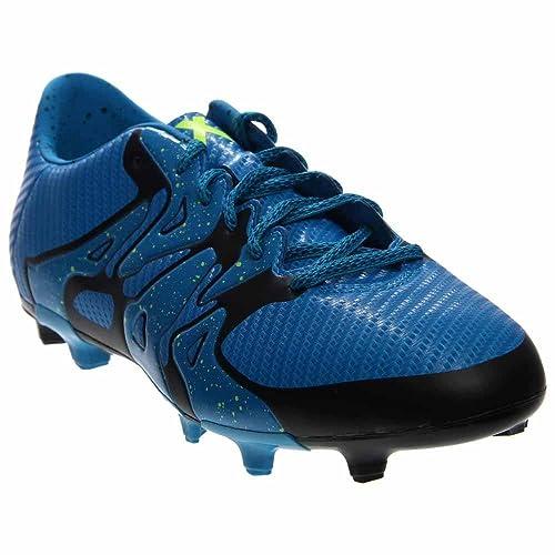 315d58e9368 adidas Mens X 15.3 FG AG Firm Ground Artificial Grass Soccer Cleats 8 1