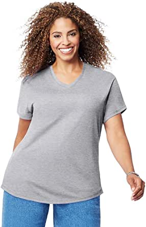 Just My Size Women's Plus-Size Short Sleeve