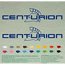 """Centurion Decal Stickers For Sailing Boat Motors – Accessories Decals – Outboard Motor Elaborate Custom Vinyl Skin Band Boats Stickers pair – Lot Of 2 (12"""", Blue 067)"""