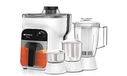 cd244b3423 Buy Havells Stilus 4 Jar 500-Watt Juicer Mixer Grinder (whitr/Black ...