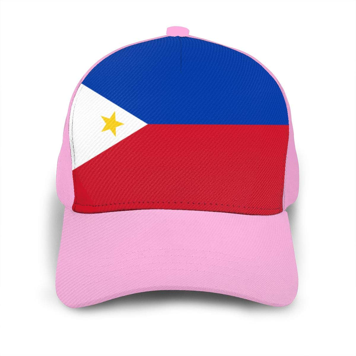 Y94OIW@MAO Philippines Flag Baseball Cap for Unisex Cotton Snapback Cap