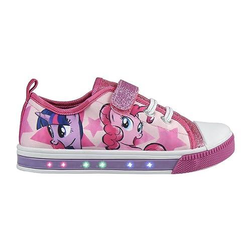 Cerdá Zapatillas loneta con Luz My Little Pony T.27: Amazon.es: Zapatos y complementos
