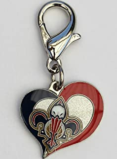 product image for Diva-Dog NBA Basketball 'New Orleans Pelicans' Licensed Team Dog Collar Charm