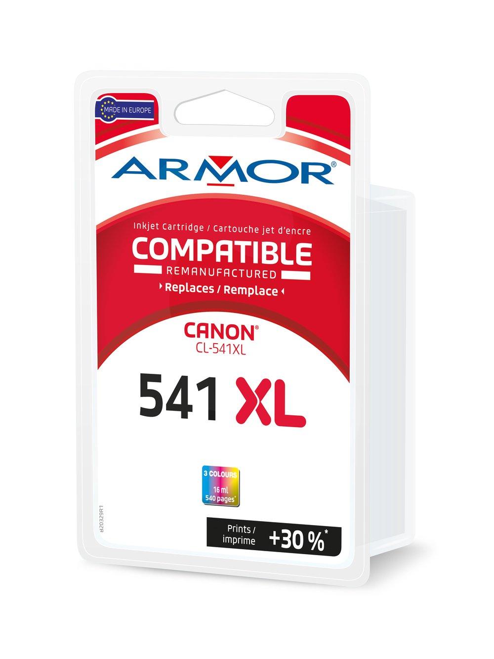 Armor b20329r1 equivalente a Canon CL-541 X L - para Canon Pixma ...