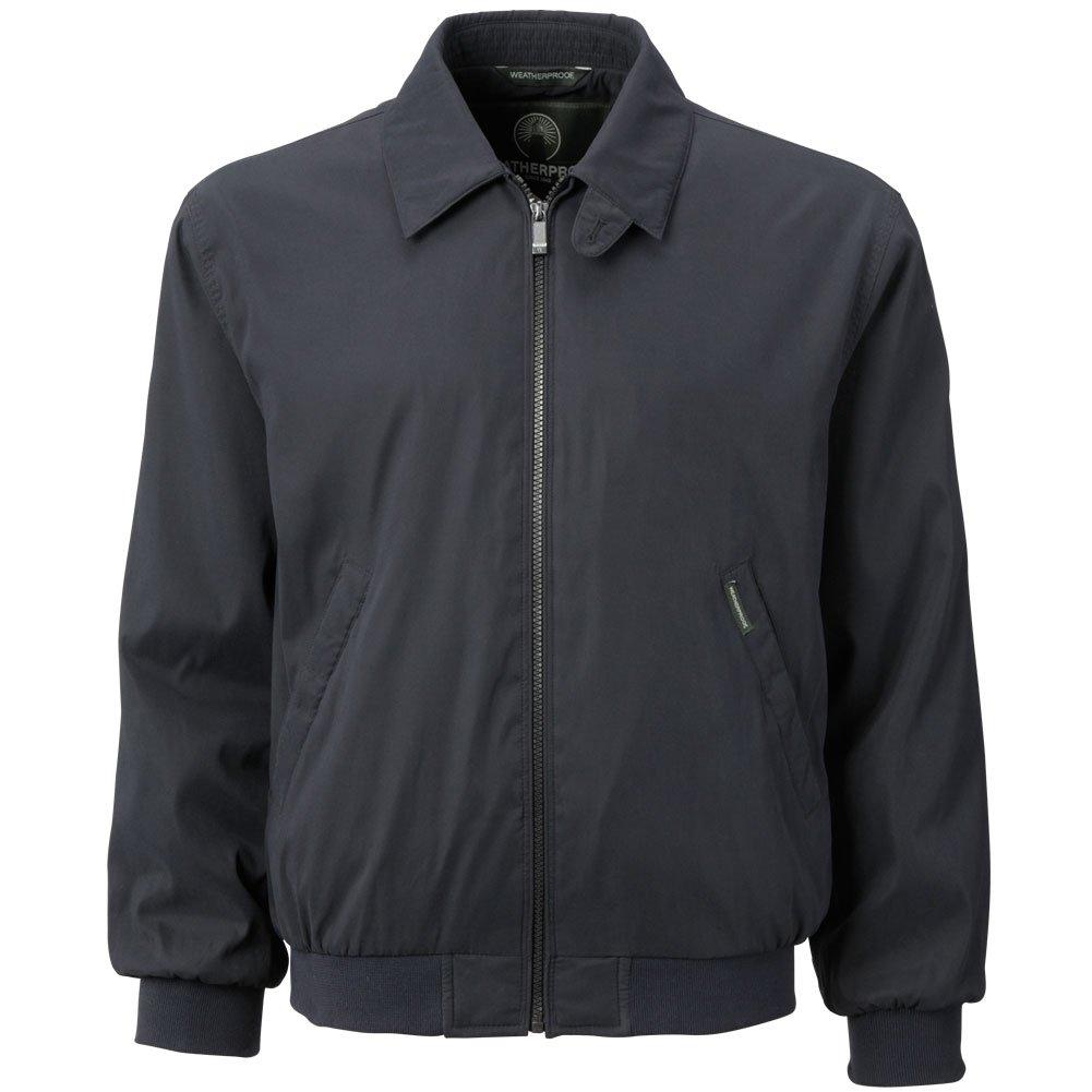 Weatherproof Garment Co. Men's Microfiber Classic Golf Jacket, Navy, Small by Weatherproof Garment Co.