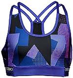 Heatgear Armour Novelty Girl's Sport Bra, Constellation Purple / Constellation Purple / Constellation (530), Youth Medium