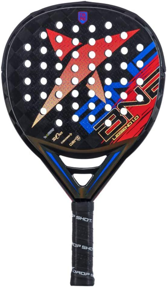 DROP SHOT Pala Legend 1.0, Adultos Unisex, Multicolor, Estandar