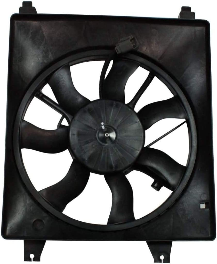 For Kia Sedona Radiator A/C Cooling Fan Assembly 2006 07 08 09 2010 For KI3115119 | 25380-4D900