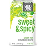 Good Earth Green Tea, Sweet & Spicy, 18 Count Tea Bags (Pack of 6)
