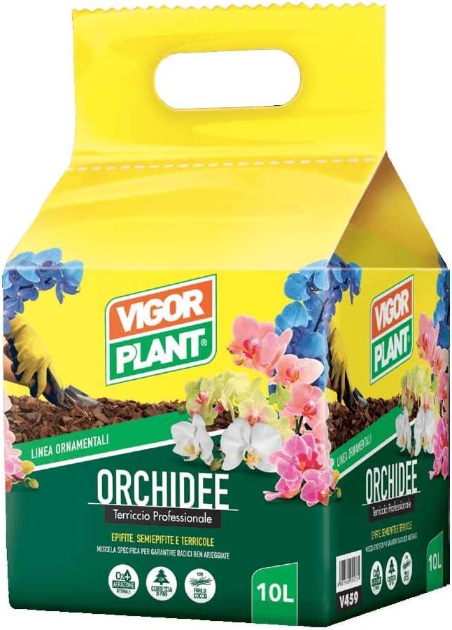 vigorplant Sustrato para todas las orquídeas 10 LT