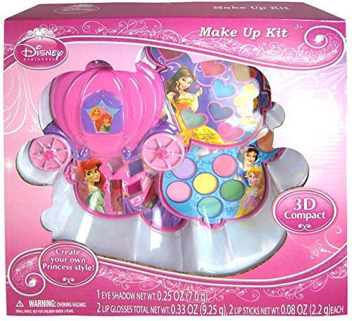Disney Princess Makeup Kit Gift Set in Slide Out Case