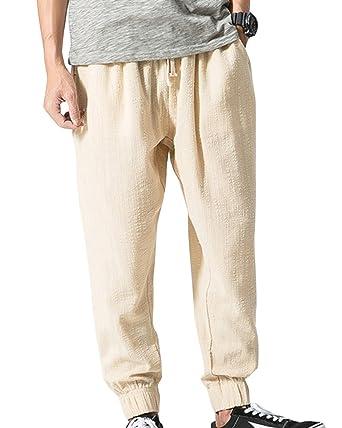 Aden Uomo Leggero Traspirante Harem Pantaloni da Jogging