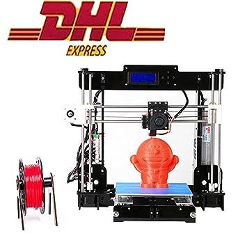 Impresora 3D, ZR-Printing A8-Y8 Impresora 3D DIY Kit de acrílico ...