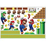 FANGCAN 50 x 70 cm Removable Carton Mario Living Room Home Decoration Vinyl Wall Sticker Wall Sticker