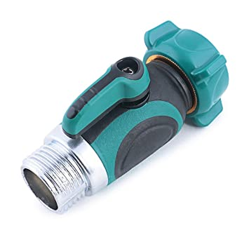 Amazoncom Garden Hose to Hose Shut Off Valve Arthritis Friendly