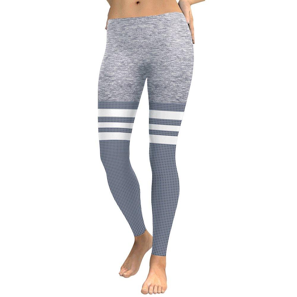 MAOYYMYJK Yoga-Hose Für Damen Sommer Mode 3D Digitaldruck Slim Sport Schweiß Absorbierenden Neun Punkte Leggings D1834