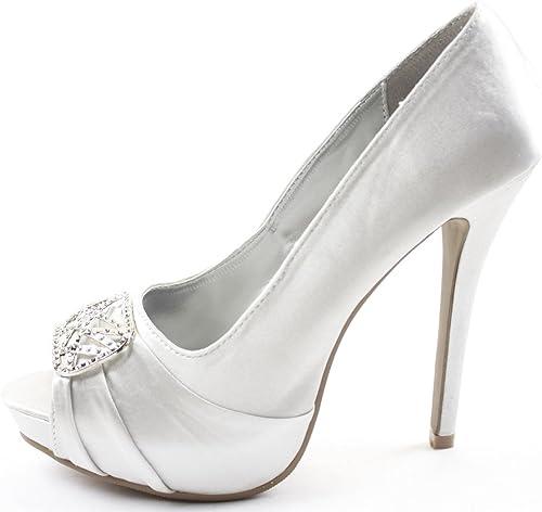 Scarpe Sposa 41.Shoefashionista Scarpe Sposa Donna Con Tacco Alto A Spillo