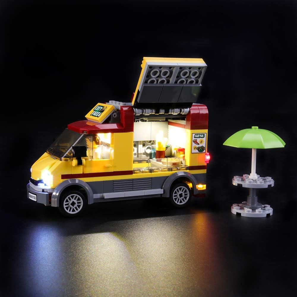 LEGO 60150 ピザショップトラック対応LEDライトキット(本体別売)