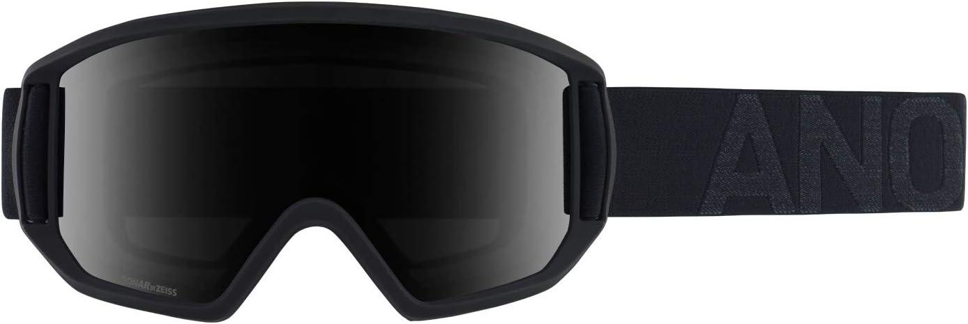 Amazon Com Anon Men S Relapse Goggle Smoke Frame Sonar Smoke Lens Spare Lens Amber