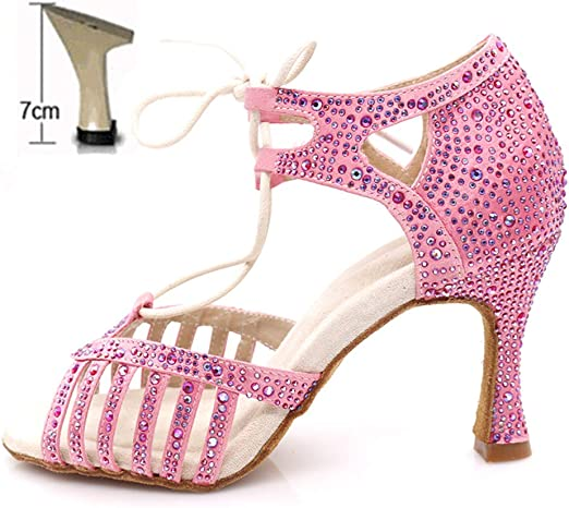 Lady New Season Dance Rhinestone Ballroom Dance Shoes Various Color Comfort