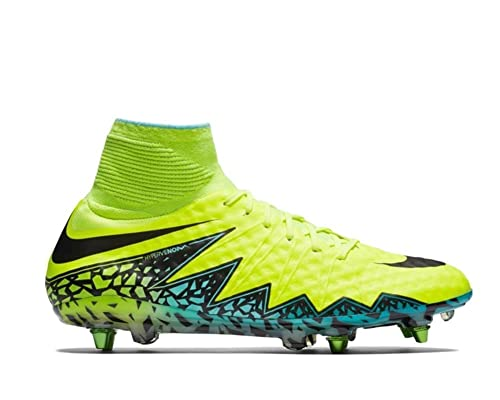 on sale bc3ff aae09 Nike Hypervenom Phantom II SG-PRO, Scarpe da Calcio Uomo, Giallo (Amarillo