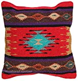 Aztec Throw Pillow Covers, 18 X 18, Hand Woven in Southwest and Native American Styles. 1
