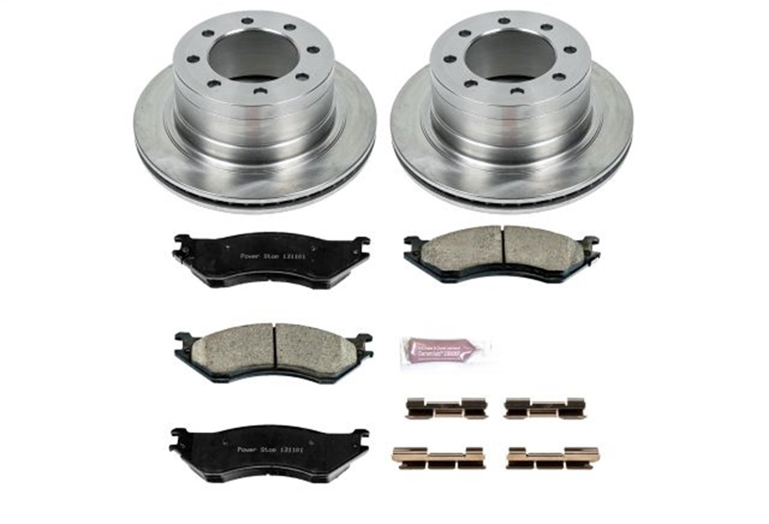 Autospecialty KOE5490 1-Click OE Replacement Brake Kit by POWERSTOP (Image #1)