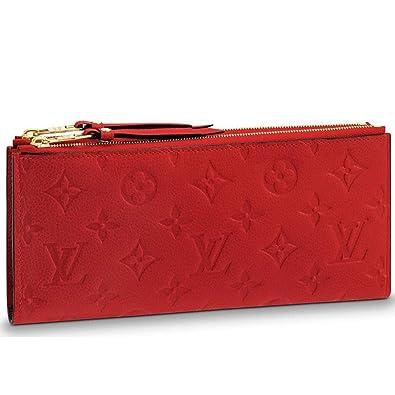 923e677fc0 Louis Vuitton Monogram Empreinte Portafoglio Adèle Wallet Cherry Article:  M62529: Amazon.co.uk: Shoes & Bags