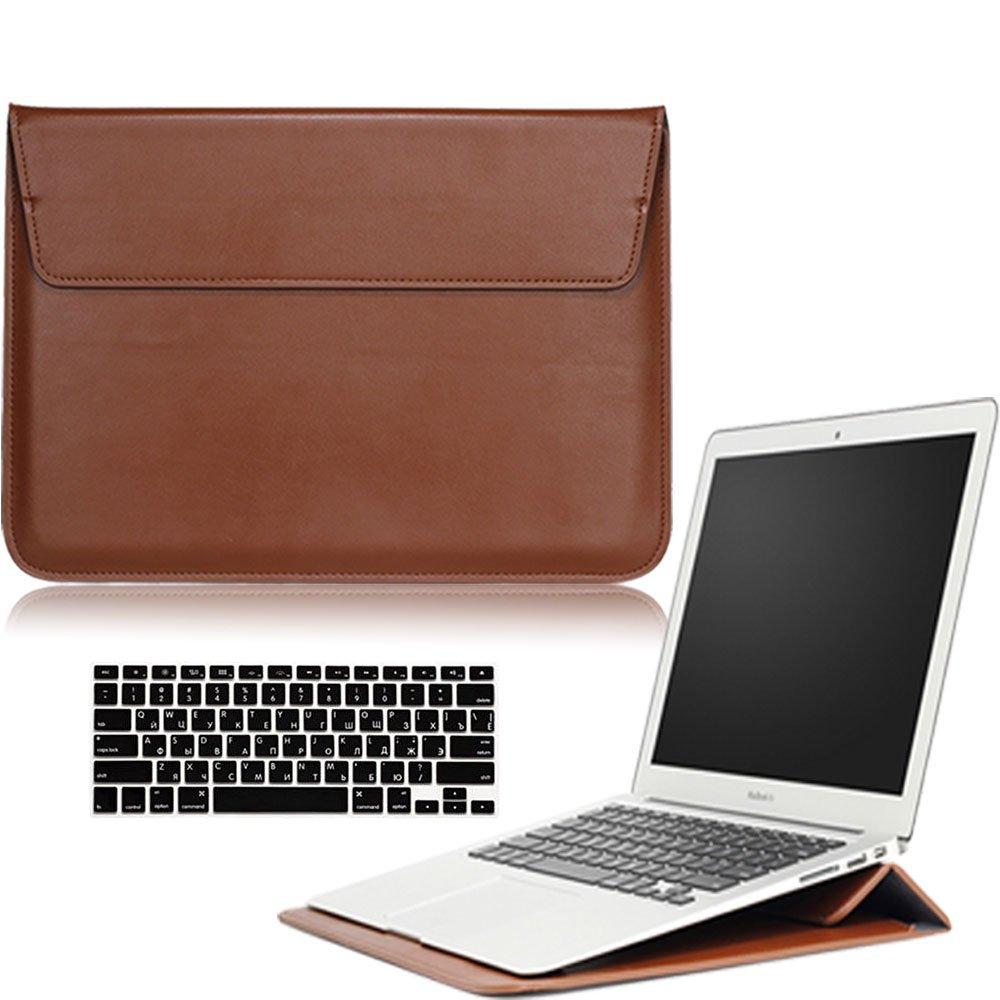 AY0070 Macbookシリーズ用ケース + キーボードカバー プロテクター Macbook 12 inch With Retina Display AY0070-12Retina-Message Case-Brown B01N3M0LXS Macbook 12 inch With Retina Display,Ultrathin Sleeve BagBrown