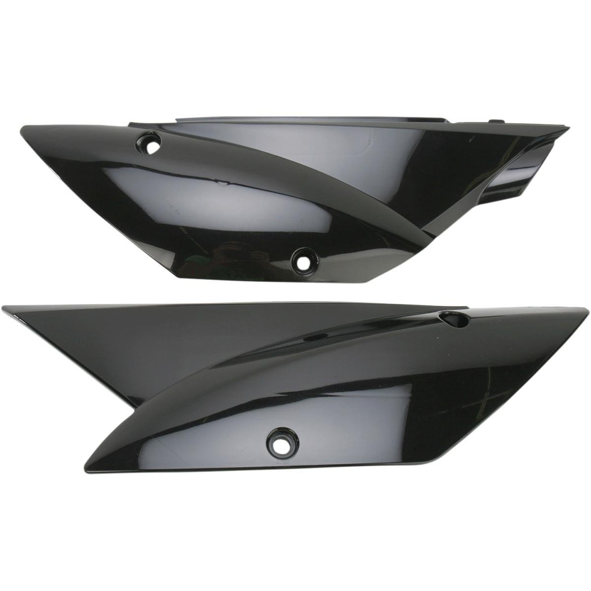 UFO Plastics Side Panel Black for Kawasaki KLX110 2010