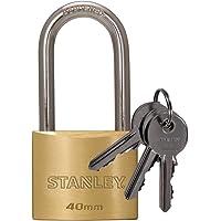 Stanley S742-043 - Candado de latón macizo