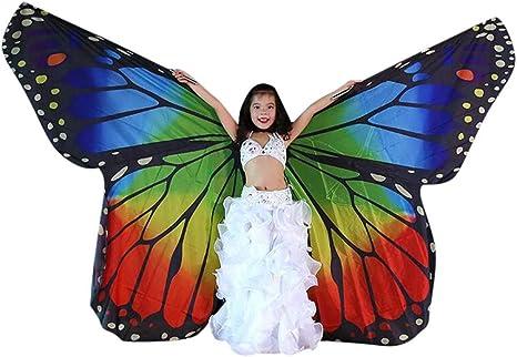 Disfraz de mariposa para mujer, danza del vientre, alas de danza ...