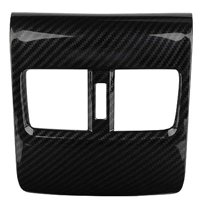 KIMISS 2 piezas de cubierta de salida de aire de ABS para el interior del coche