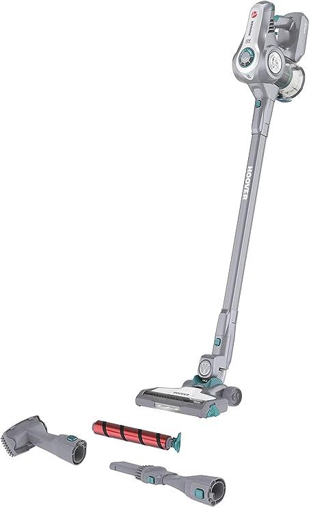 Hoover H Free 700 HF722AFG 011 Scopa Ricaricabile Senza Fili ad Alte Prestazioni, All Floors, Grigio Brillante