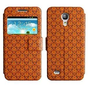 LEOCASE Muy Naranja Funda Carcasa Cuero Tapa Case Para Samsung Galaxy S4 Mini I9190 No.1000073