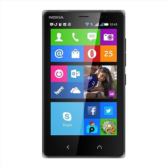 nokia x2 dual core 1 2ghz nokia x os dual sim black amazon in rh amazon in Nokia X6 Nokia X
