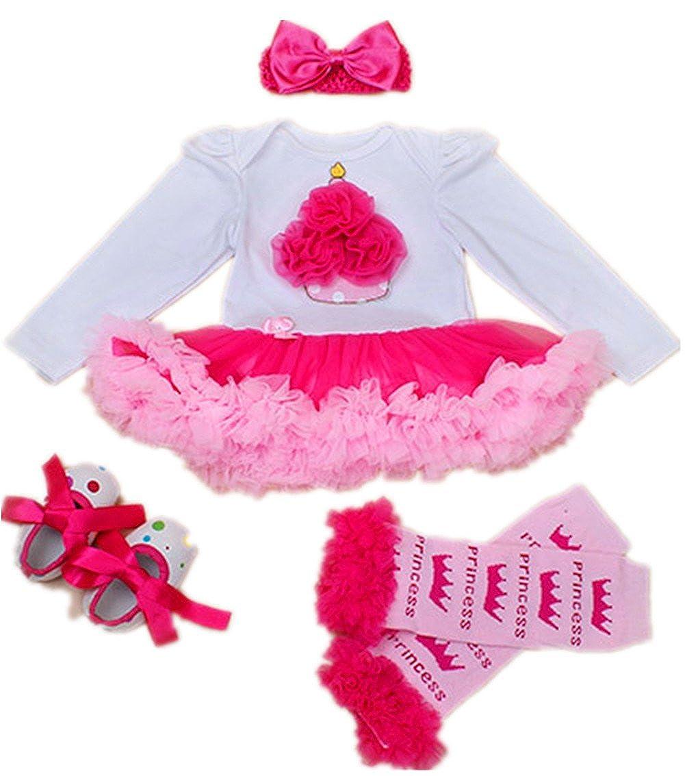 48b7eec47 WINMI Baby Girls 1st Birthday Tutu Outfit Newborn Party Dress