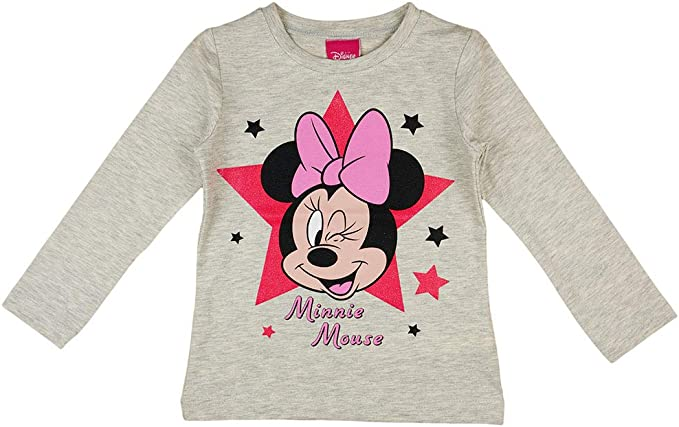 Gr Disney Minnie Mouse Langarmshirt pink 98-128