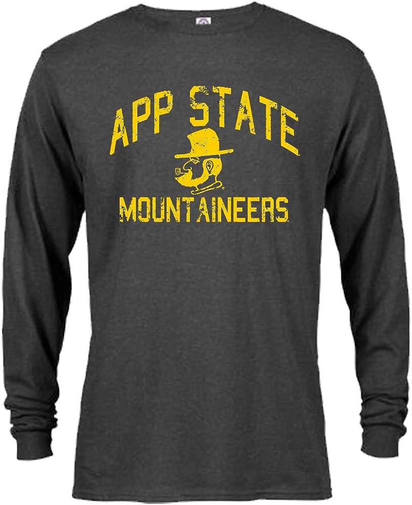 NCAA Retro Distressed Vintage Long Sleeve T-Shirt