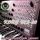 KORG MS20 - HUGE Original Samples Library in WAVE/Kontakt format on DVD or download